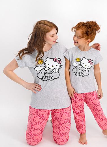 Hello Kitty Pijama Takım Beyaz